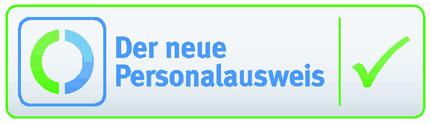 Berechtigungs- und Zertifizierungslogo Bild und Wortmarke (März 2011)