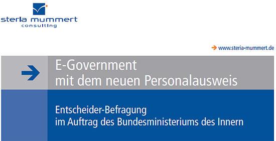 Studie E-Government mit dem neuen Personalausweis