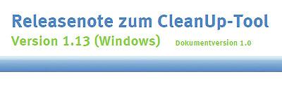 AusweisApp-CleanUpTool- 011300 Releasenotes (140725-AusweisApp)