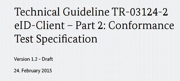 Technische Richtlinie BSI TR-03124