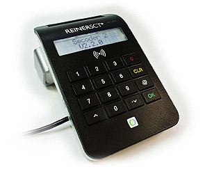 Kartenlesegerät cyberJack RFID komfort von REINER SCT