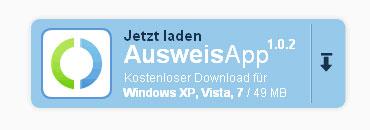 Download der AusweisApp 1.0.2 für Windows XP und Vista