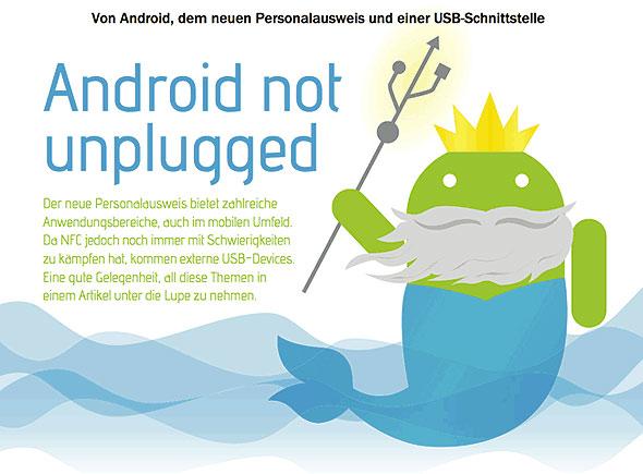 """""""Android not uplugged"""" - Die eID-Funktion des neuen Personalausweis für den mobilen Einsatz"""