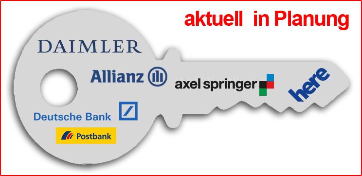 Internet-Generallschlüssel deutscher Unternehmen in Planung